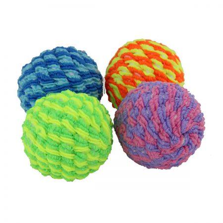Мячик плетеный гремящий (Туба: 30 шт.)
