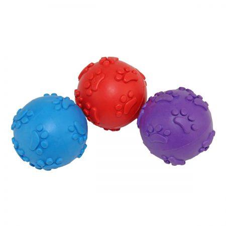 Мячик с лапками пищащий